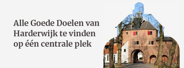 Alle Goede Doelen van Harderwijk te vinden op één centrale plek